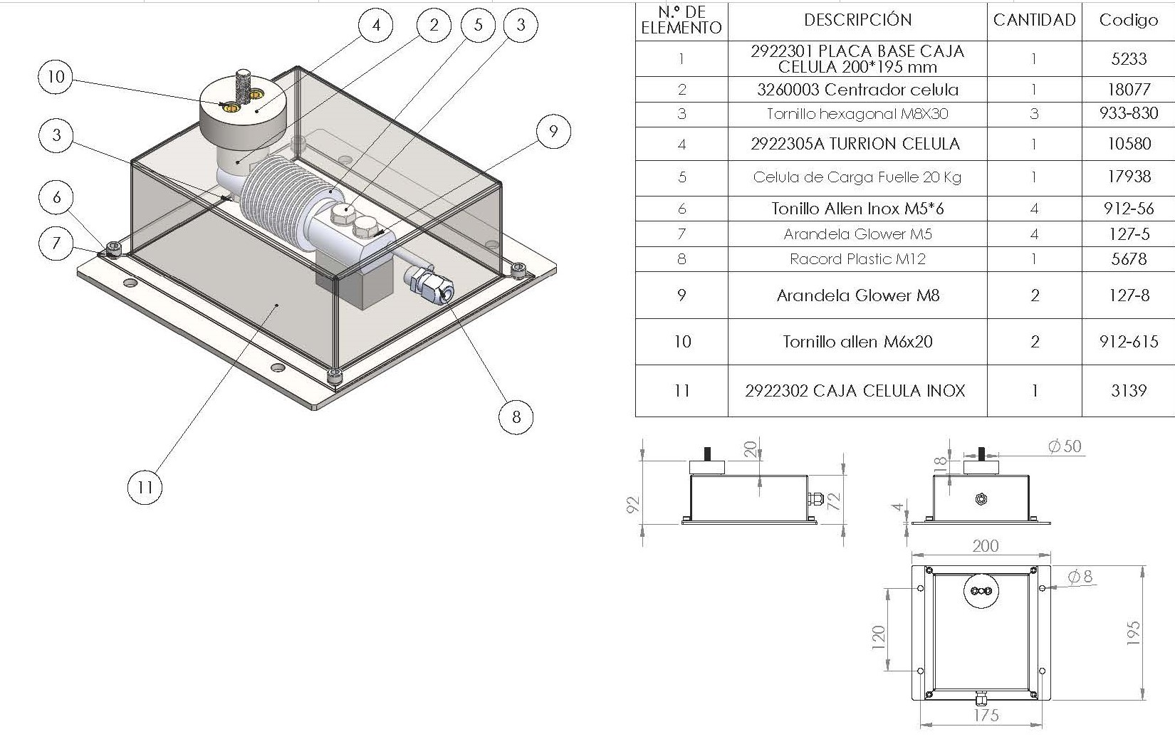 2922300_CAJA_CON_CELULA_DE_CARGA_TOTALMENTE_WATERPROOF_INOXIDABLE