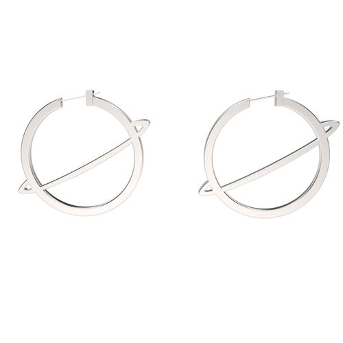 Saturn earrings