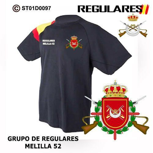 Camiseta Grupo Regulares Melilla 52